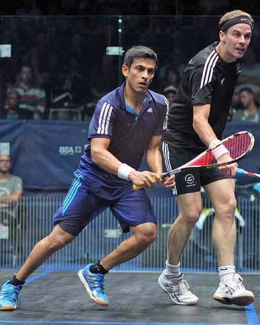 Saurav Ghosal vs. Campbell Grayson - Clinic and Exhibition Match at INFINITUM SquashTuesday, February 12