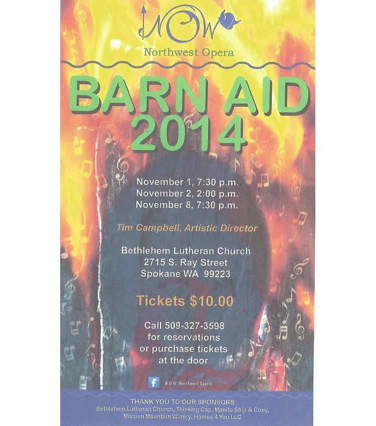 Barn Aid 2014