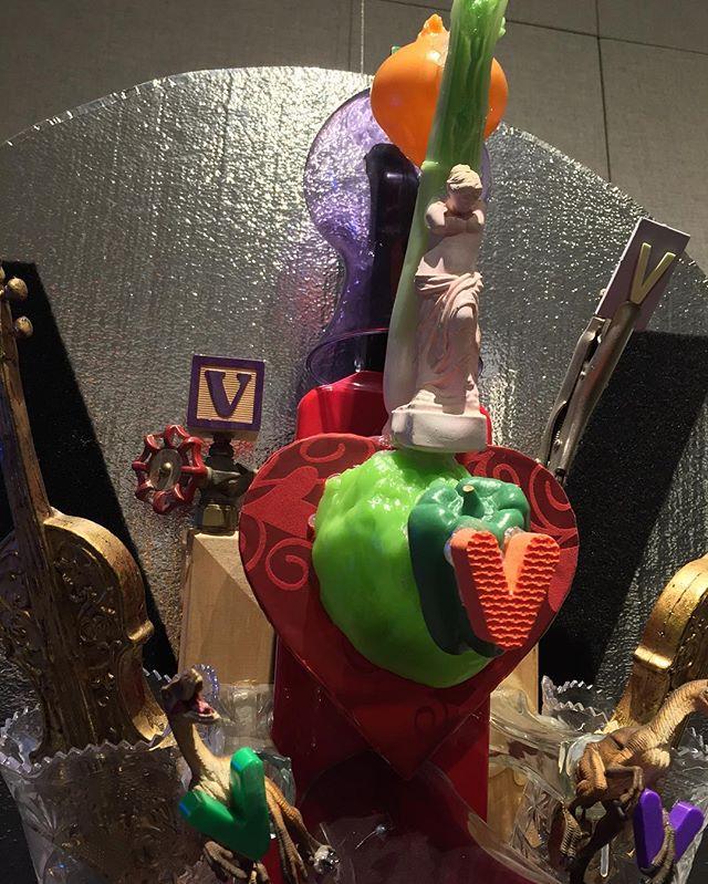"#brucewall ""V"" is for Valentine. detail. from ALPHABET series, #allentownartmuseum #installationart #mixmedia #foundobjects #valentines #contemporaryart #sculpture"