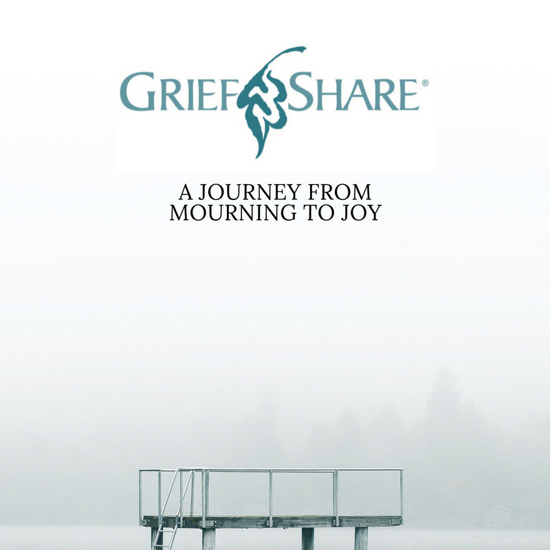 GriefShare   You don't have to go through the grieving process alone. GriefShare is a safe place where you are surrounded with a caring group of people who will walk alongside you through one of life's most difficult experiences. Journey from mourning to joy.