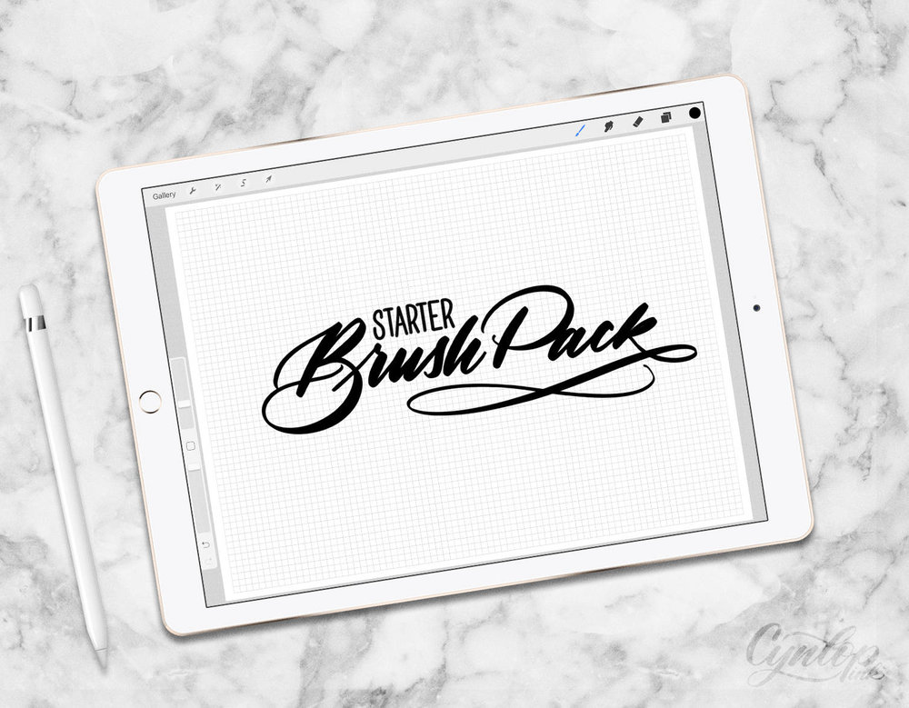 starter brush pack cynlop ink Procreate Brushes.jpg