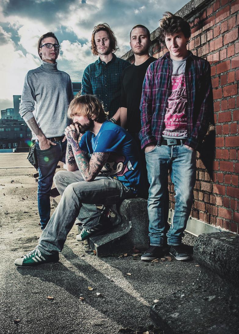 We Came Bearing Arms - Metalcore from Namur