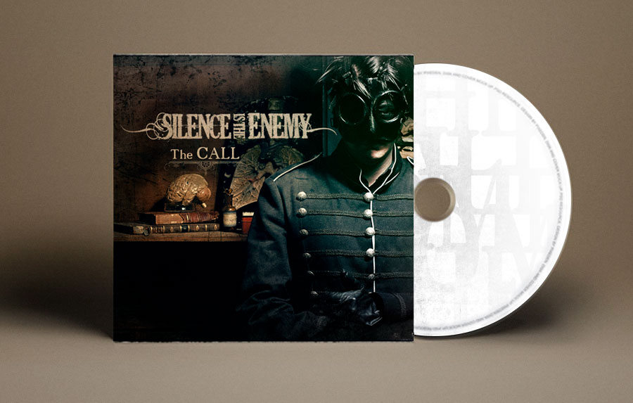 cd-cover-pochette-thecall-silenceistheenemy by .