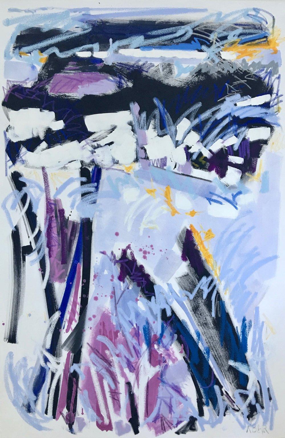 Lavender Fields I, 72x48