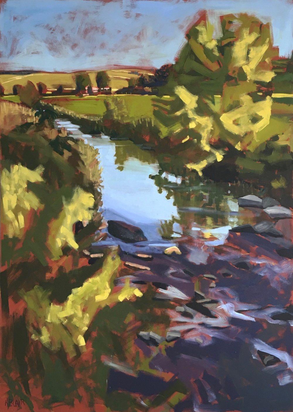 Stream Farm VA, 84x60
