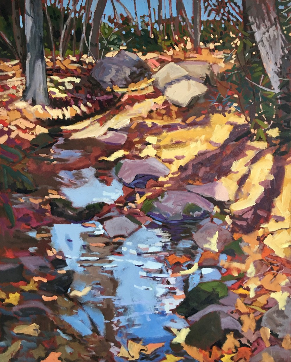 Autumn Stream, 60x48
