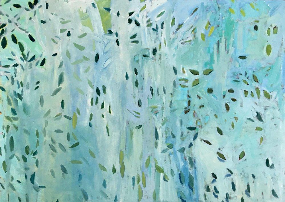 Falling Leaves, 60x84