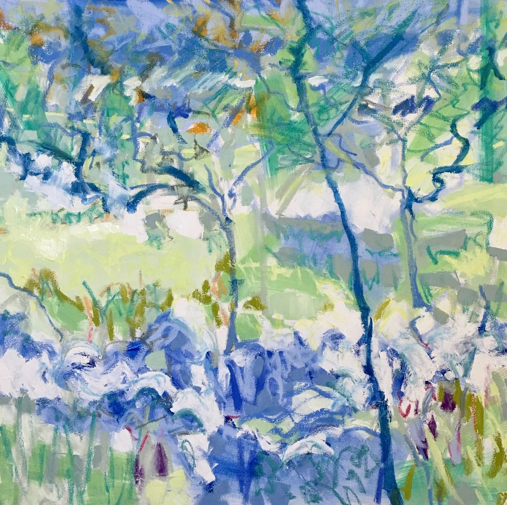 Midsummer Trees II, 36x36