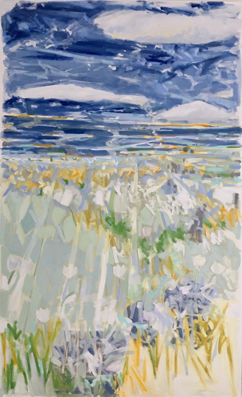 Flower Fields II, 78x48