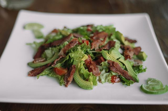 Want something light in the evenings? Come in and try our Avocado and Bacon Salad. #addisababa #ethiopia #dinnertime