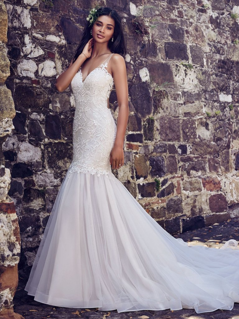 Maggie Sottero Mermaid gown. Style: Adaleine