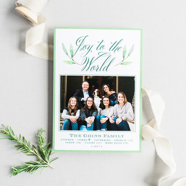 Last call!!! We will accept orders through THIS Friday, December 7th. We must have order and picture in hand! What a great season it's been and we have loved seeing each family photo, wedding picture, and newborn baby pics come alive on a card!