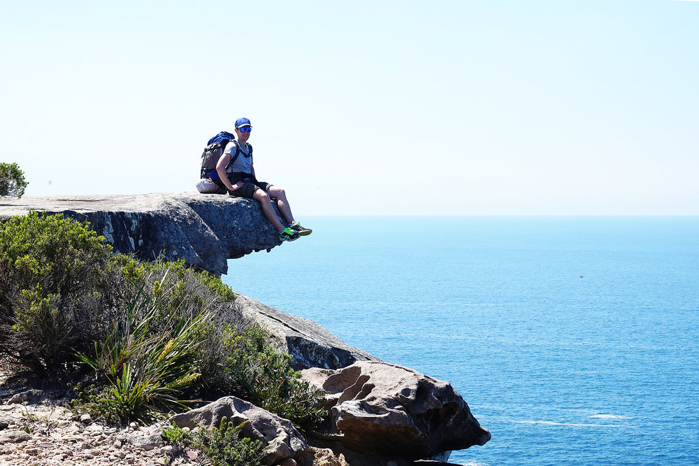 Hiking the Royal National Park Coast Track Eagle Rock