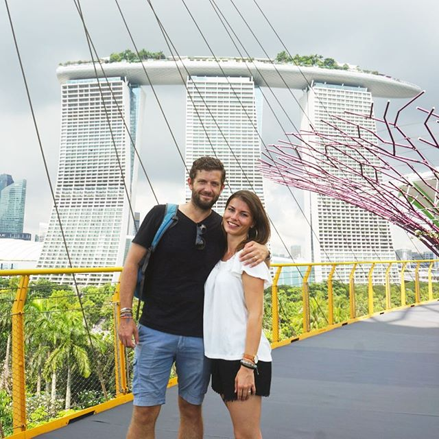 """Certainly, travel is more than the seeing of sights; it is a change that goes on, deep and permanent, in the ideas of living."" (M.R.B.) ✈️❤️ #singapore #wayakena #travel #happy #instagood #gardensbythebay #asia #love #couple #saraenick2018 #wanderlust #architecture #architect #design #garden #mytinyatlas #lonelyplanet #couplegoals #bbctravel #welivetoexplore #doyoutravel #theprettycities #beautiful #adventure #passionpassport #stayandwander #roamtheplanet"