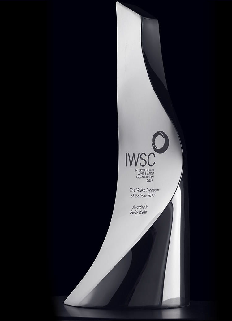 BEST VODKA PRODUCER OF THE YEAR 2017 The International Wine & Spirits Competition