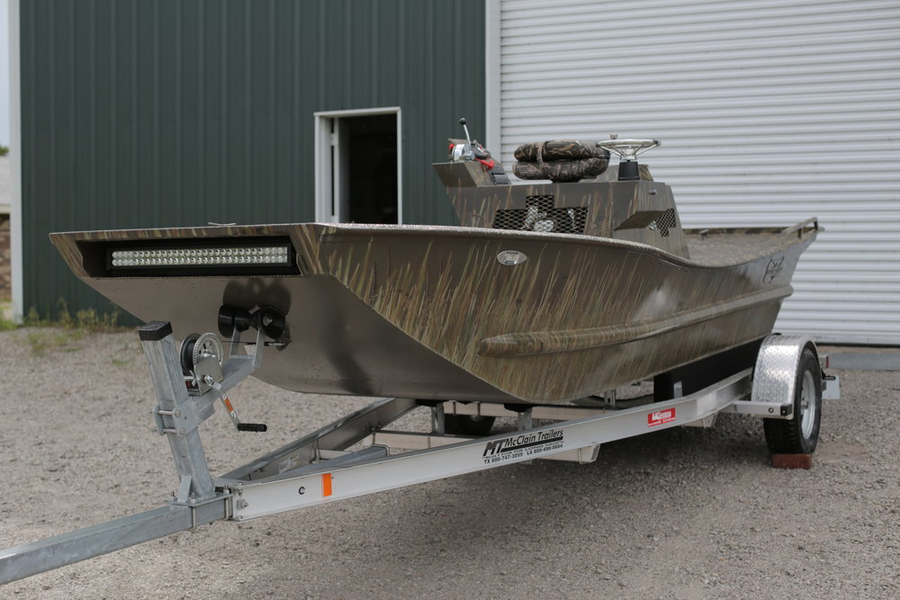 Mud Boats For Sale >> 20ft Duck Mud Boat J B Manufacturing Custom Manufacturing
