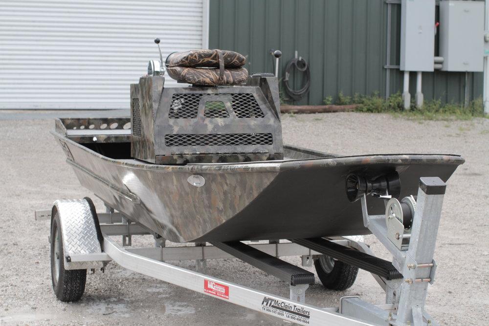 - 18ft mud boat