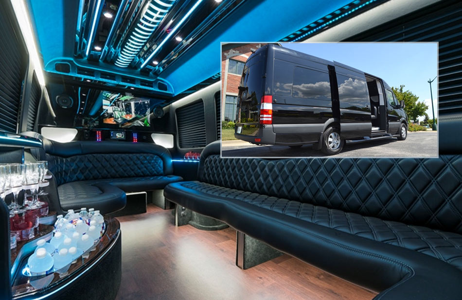 Mercedes Sprinter Limo Coach