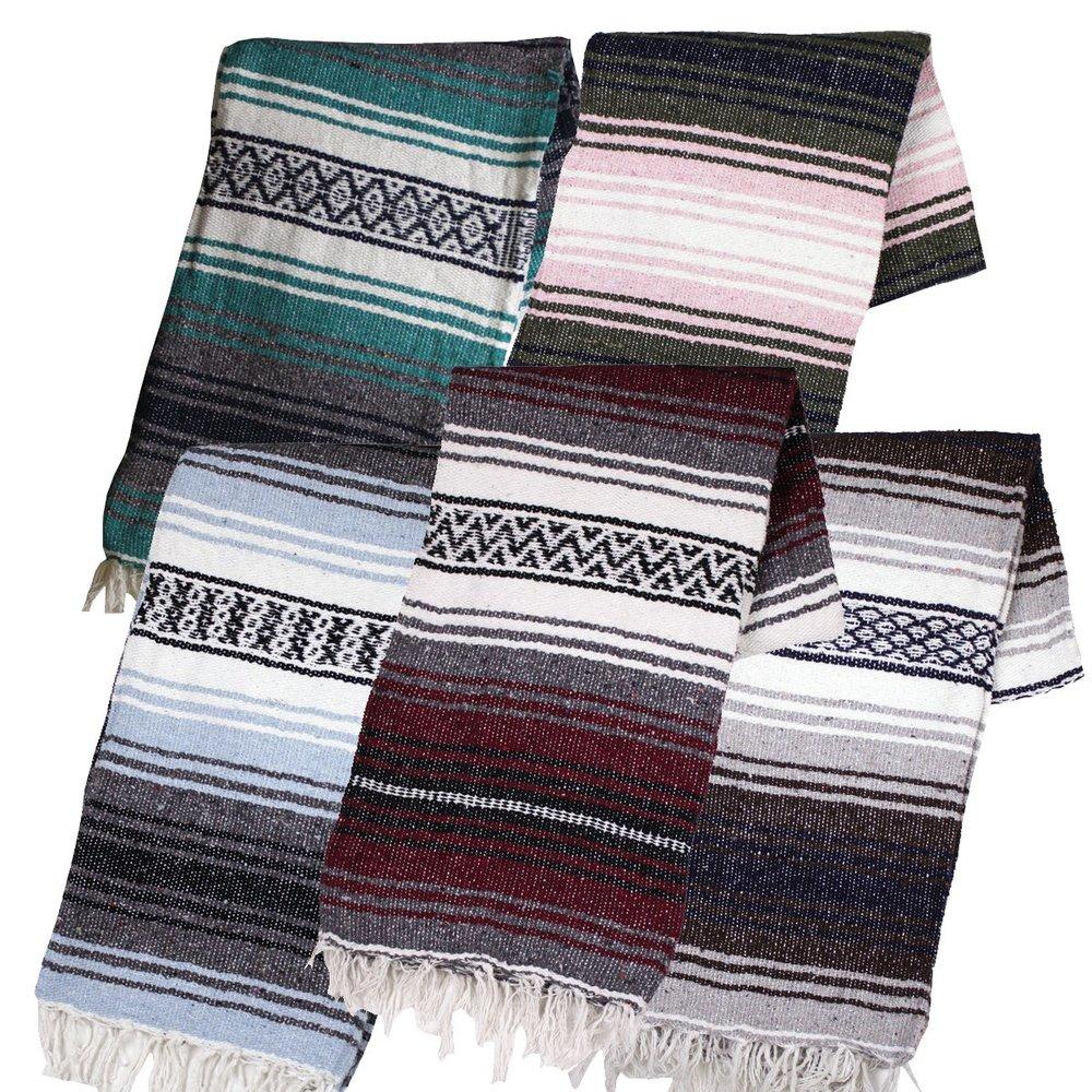 Yoga Blankets - Mexican BlanketsPurchase on Amazon