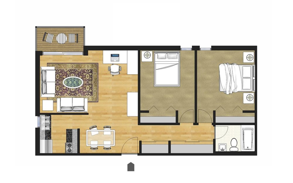 Click here for larger floor plan layouts