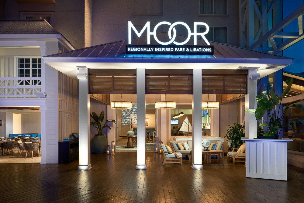 BLUR Workshop, Gaylord Hotel, MOOR Restaurant