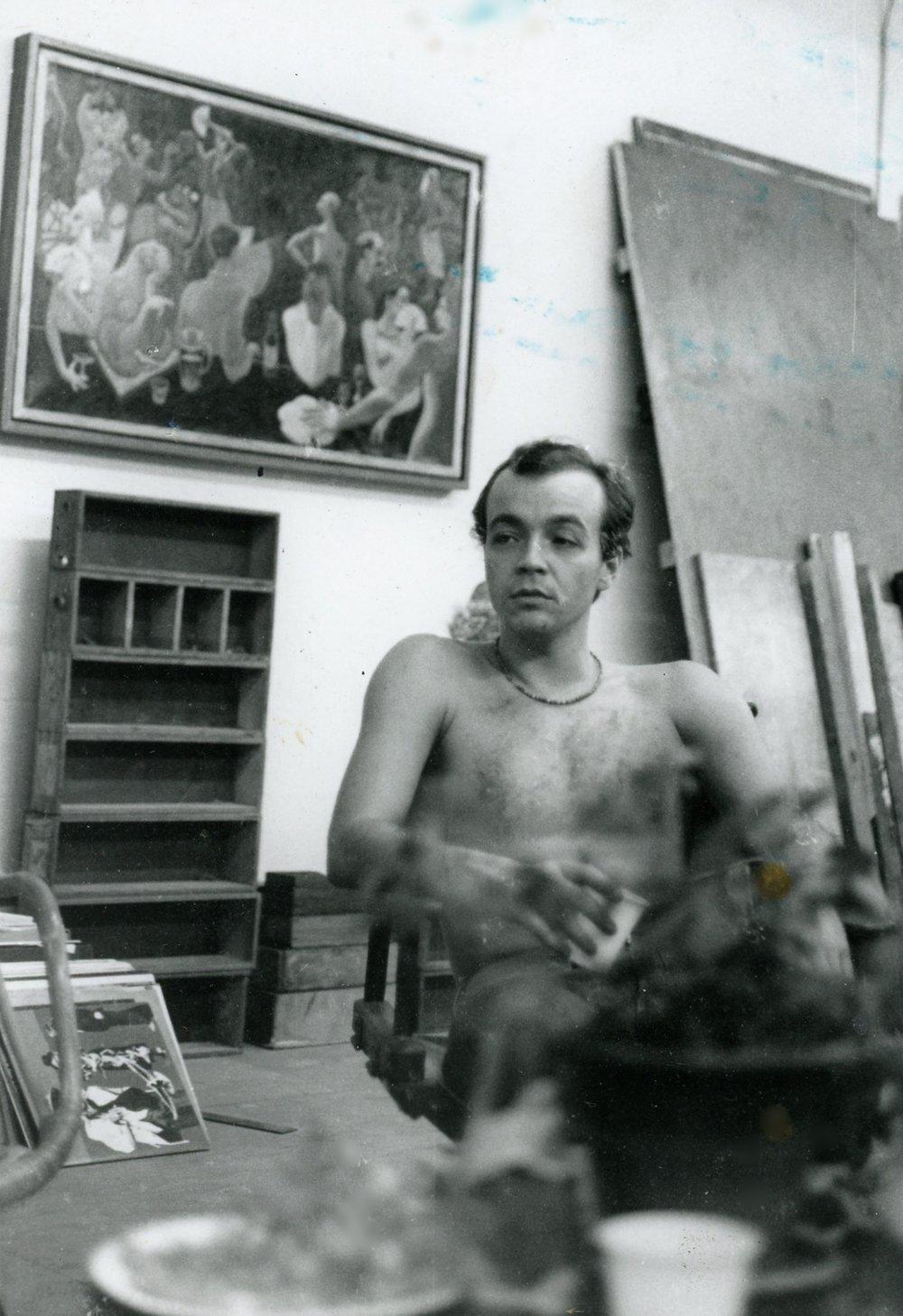 John Friedericy      Glendale Studio 1978