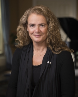 Right Honourable Julie Payette, Governor General of Canada