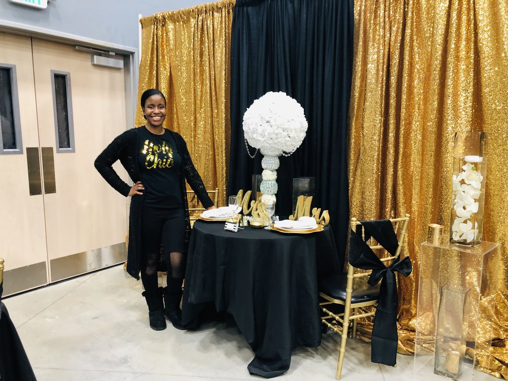 - Meet Ashley of D & W Premier Events. She is an event and wedding planner. Check out her designs on IG @dwpremierevents!