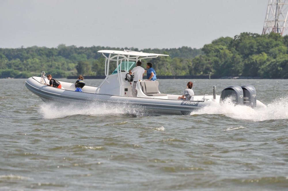 Waverider 1050   - Length - 10.5m, Max Beam - 2.92mMax Persons - 15Priced from - $140,000 (with engine)