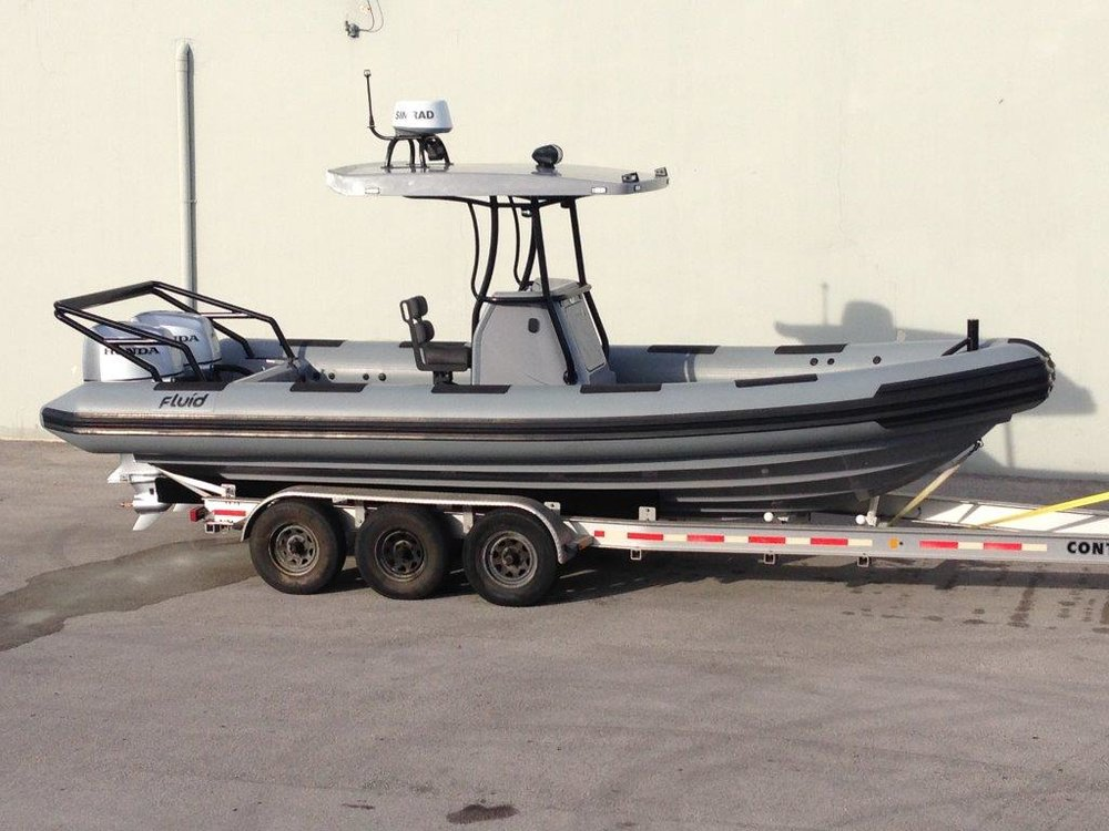 Waverider 780 - Patrol - Length - 7.8m, Max Beam - 2.92mMax Persons - 14Priced from - $125,000 (with engine)