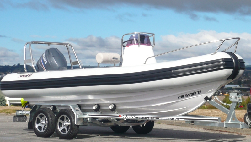 Waverider 550 - Length - 5.5m, Max Beam - 2.30mMax Persons - 9Priced from - $45,000 (with engine)