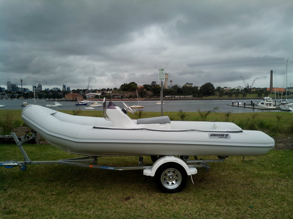Waverider 470 - Length - 4.70m, Max Beam - 2.00mMax Persons - 7Priced from - $25,000 (with engine)