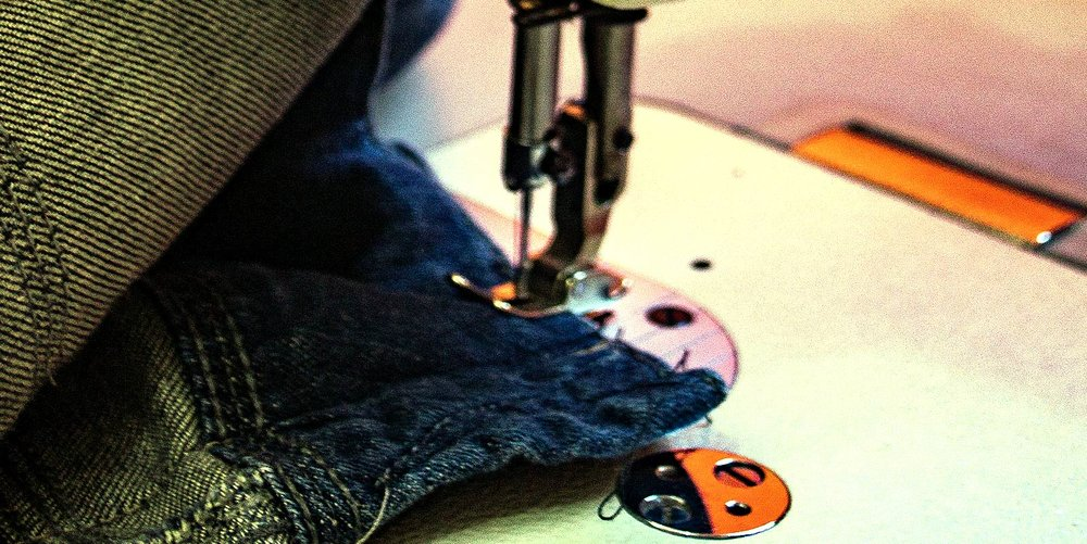 3. DROP AT THE SHOP - Drop off your jeans at our workshop, and we will take care of the rest.