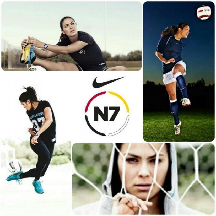 Temryss Lane,Nike N7 Ambassador.
