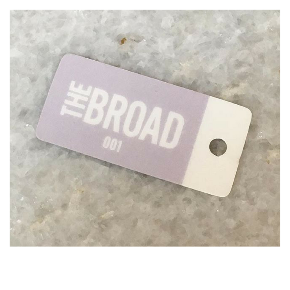 Your member tag is your key to Broad City! Haven't picked yours up yet?  Ask Mel!