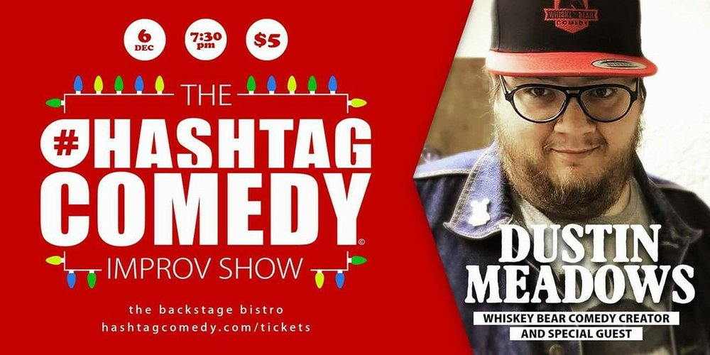 dustin meadows hashtag comedy up front shadowbox live