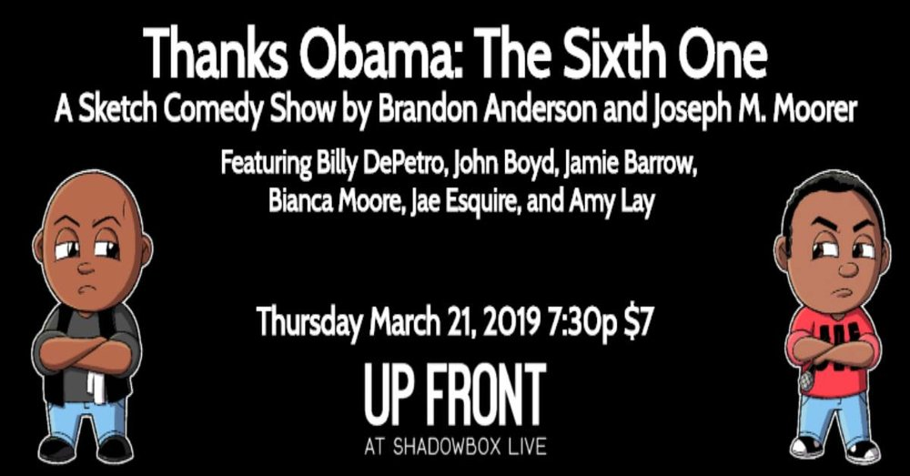 thanks obama 6 up front