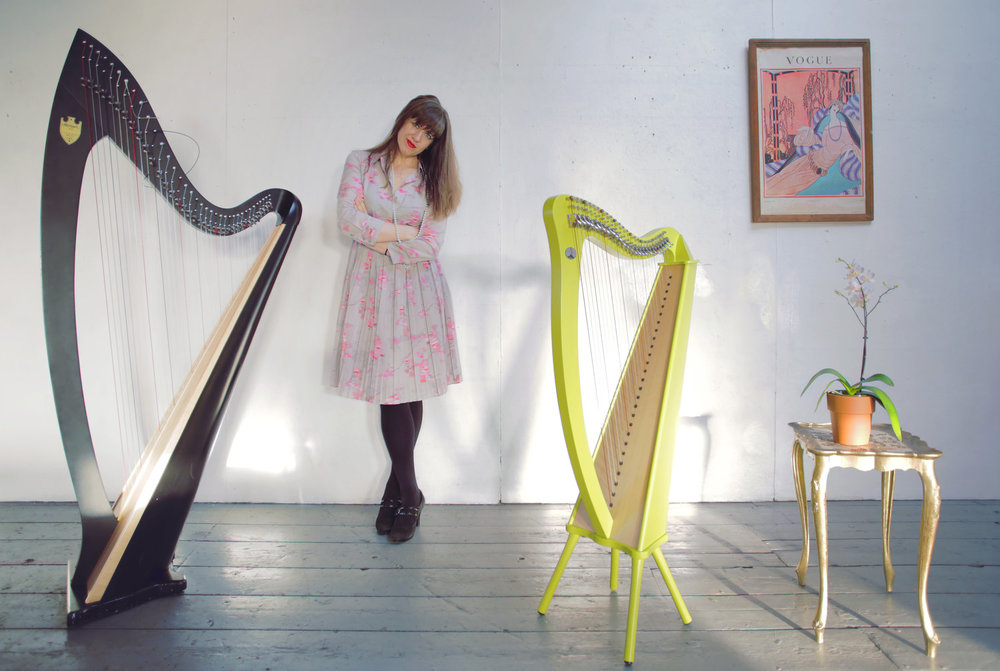 Audrey Harrer - Audrey Harrer is an alt-chamber composer/vocalist/harpist. Her music is an eccentric blend of nostalgic vocals, cinematic imagery, and playful dissonance. Audrey's recent album