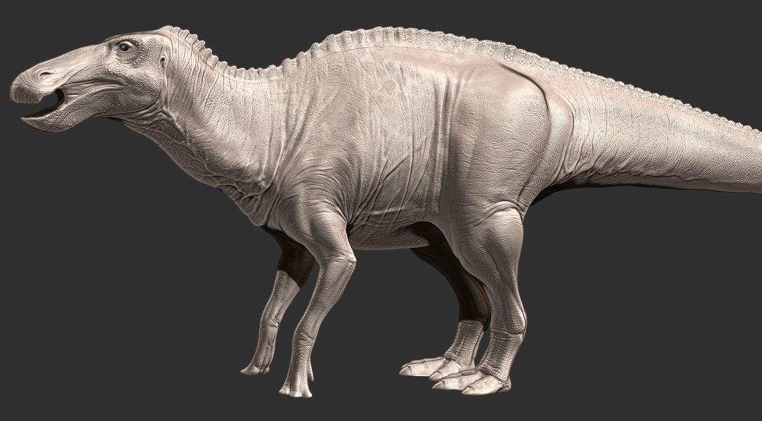 Anatosaurus wip 10