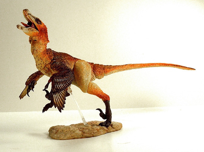 How cool is this? If you haven't already, go check out their Kickstarter and support accurate dinosaurs. Maybe someday we'll get an Acheroraptor...