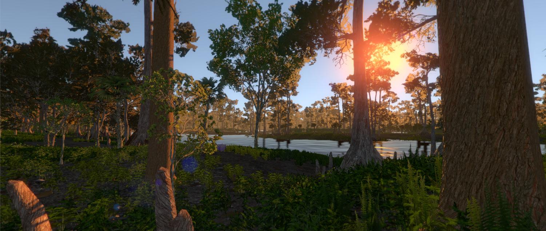 Screenshot from a recent build of Saurian.