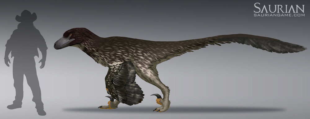 Dakotaraptor Sub Adult