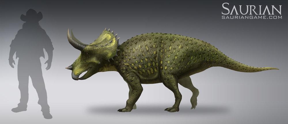 Triceratops Juvenile