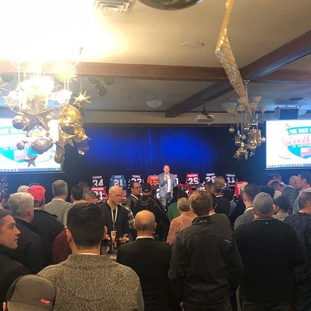 #easterseals draft party in Kitchener tonight @sportsnet Ken Reid 🤙