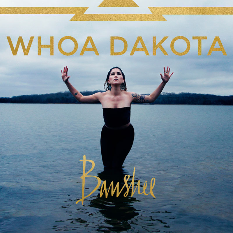"Album art   Whoa Dakota is an indie rock artist based in Nashville, TN. This cover was used for a digitally-released single and features hand-drawn lettering for ""Banshee."""