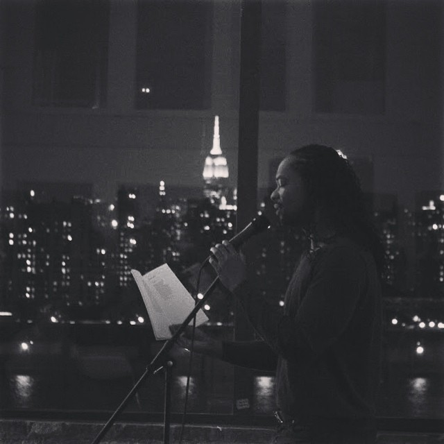 photo credit: Anna Dobrynina & Jason Koo; Jericho Brown at the Brooklyn Poets Reading Series 9.19.14