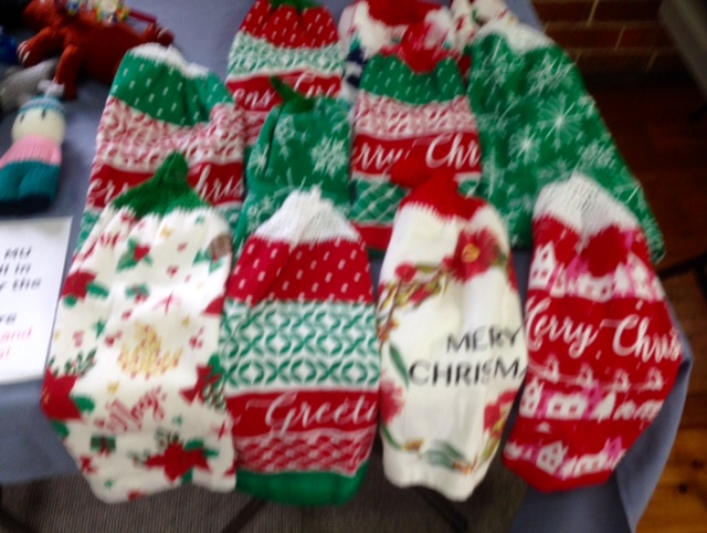 Some of the crafts for MU Christmas stall.jpg