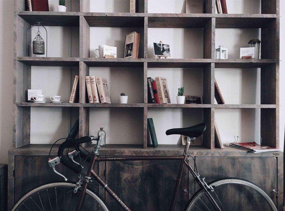 custom made bookshelves