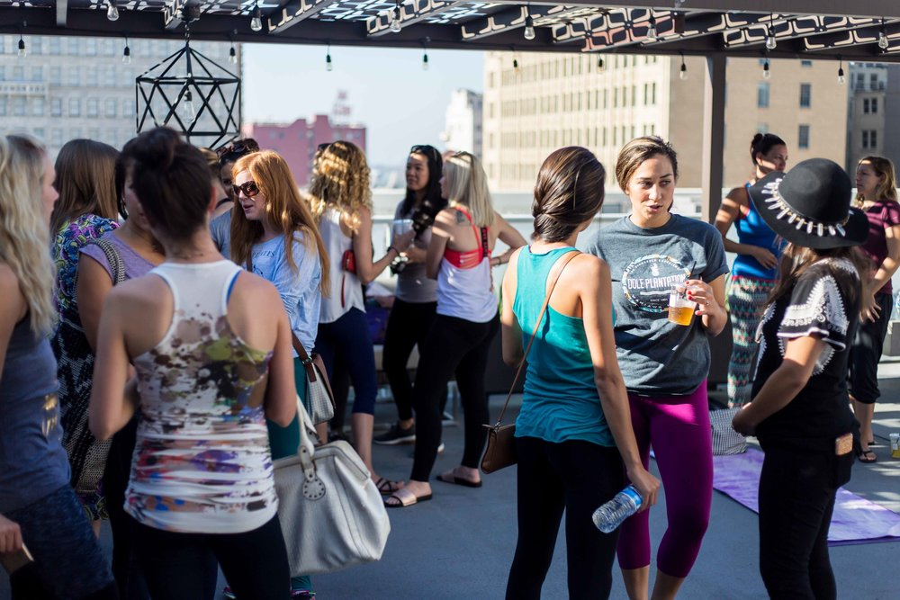 Each Motivation Monday event is focused on health, wellness, and networking. Typically beginning with a business workshop followed by rooftop yoga. always interactive,intentional, and motivating.Events rotate am to pm monthly.