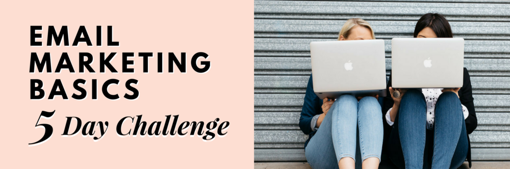 Two Girls and a Laptop. Email Challenge